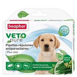 Pipette répulsives antiparasitaires CHIOT BEAPHAR