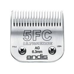 Tête de coupe Acier Carbone N°5FC - 6.3 mm ANDIS